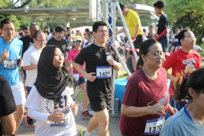 WGS staff lead by example in participating in the Cross Country Run..JPG